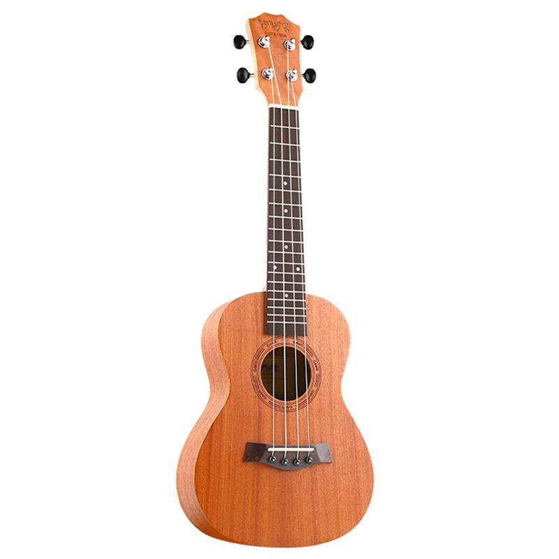 BWS EST & 1988 26 Inch Ukulele 18 Fret Tenor Ukulele Acoustic Cutaway Guitar Mahogany Wood Ukulele Hawaii 4 String