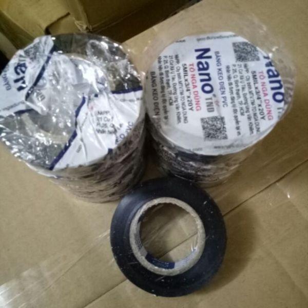 20 cuộn băng dính điện 500gam/1cây hàng xịn công ty Tô Nga Dũng