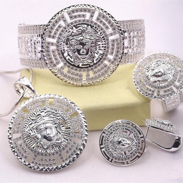 Bộ trang sức bạc verasac