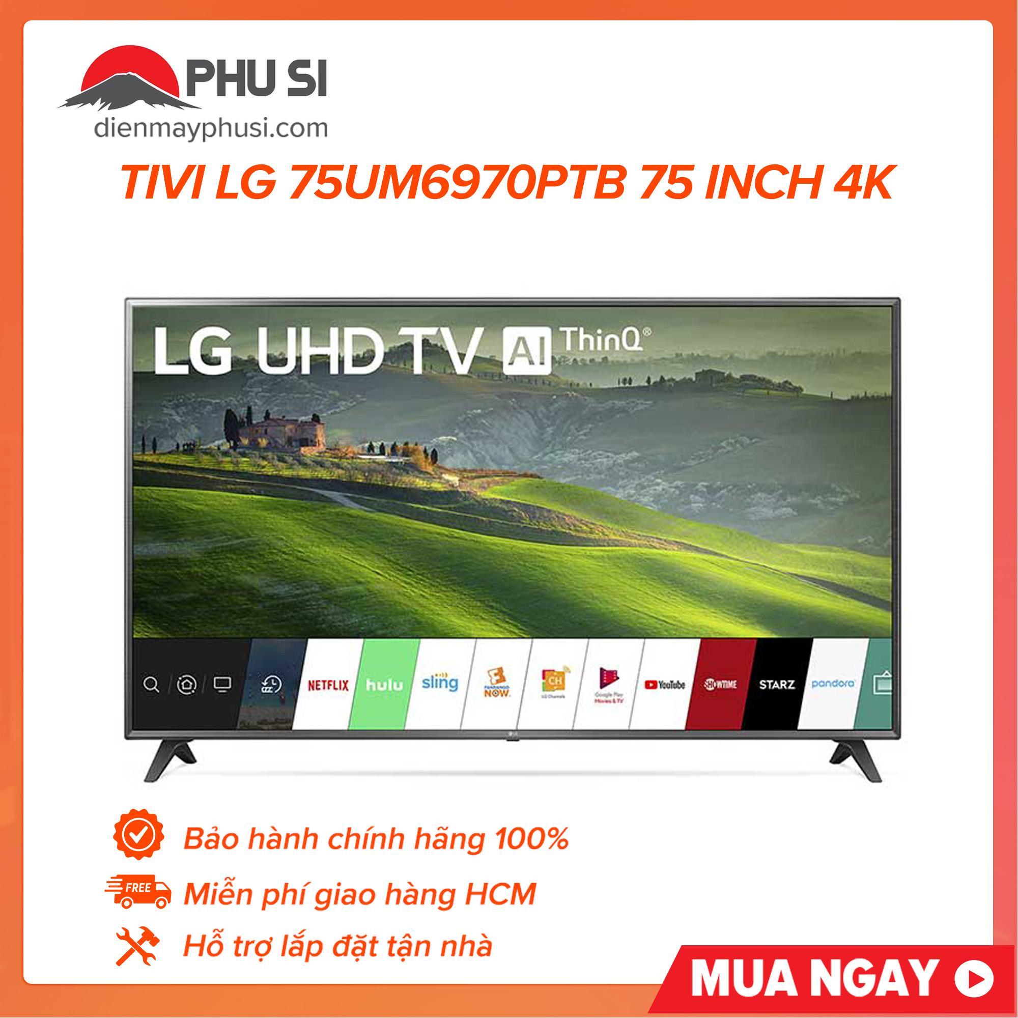 Bảng giá Smart Tivi LG 4K 75 inch 75UM6970PTB