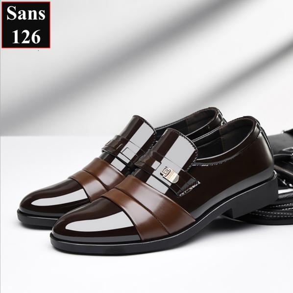 Giày Tây Giày Công Sở Miễn-Phí-Ship Sans126 Sans Shop Sanshop giá rẻ
