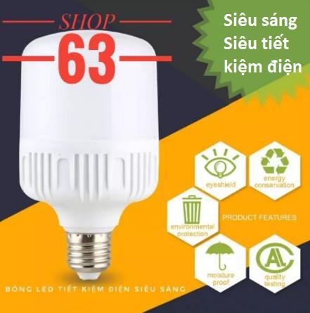 Bóng Đèn Led Siêu Sáng Siêu Tiết Kiệm Điện-Đuôi Vặn (Tuỳ chọn Watt)