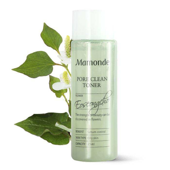 [Hàng Auth] Nước Hoa Hồng Trị Mụn, Se Khít Lỗ Chân Lông Mamonde Pore Clean Toner 25ml