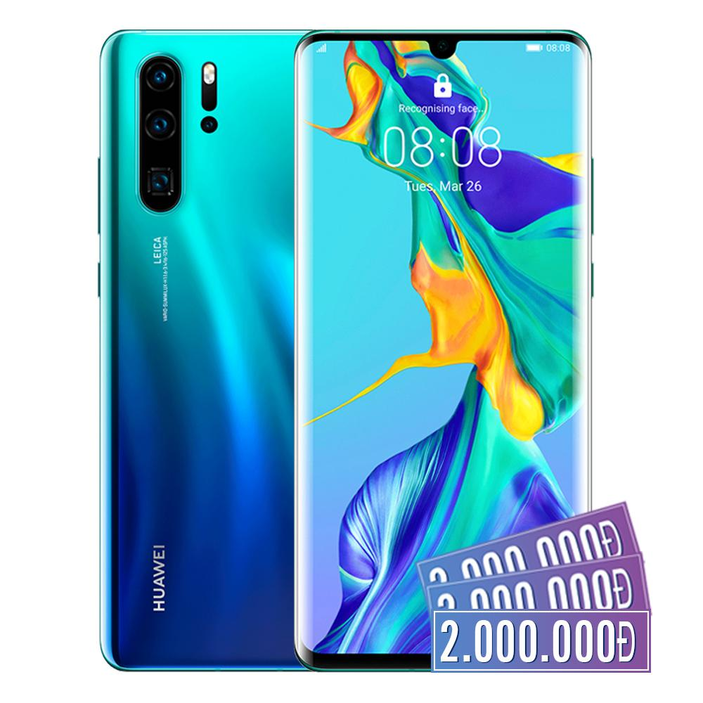 "Huawei P30 Pro Mới 8GB RAM 256GB ROM 40MP Bộ 4 Camera Leica 6.74"" OLED Android 9"