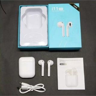Tai Nghe Bluetooth I11 Plus max nút cảm ứng, không dây âm thanh 5.0 đỉnh cao - Tai nghe bluetooth không dây - Tai nghe không dây bluetooth - Tai nghe bluetooth mini thumbnail