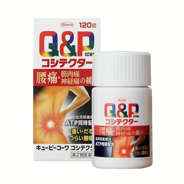 Viên Uống Đặc Trị Đau Lưng Xương Khớp Q-P Kowa Nhật Bản 120 viên nhập khẩu