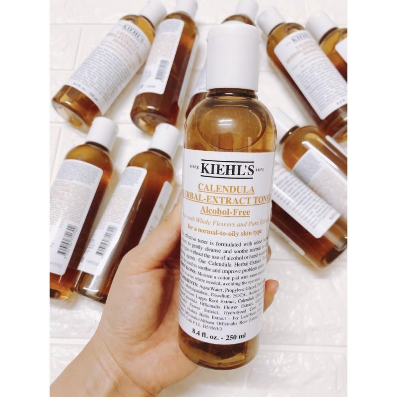 [kiehls us - Date 2022] Toner Hoa Cúc Kiehl's Calendula Herbal Extract Alcohol-Free giá rẻ