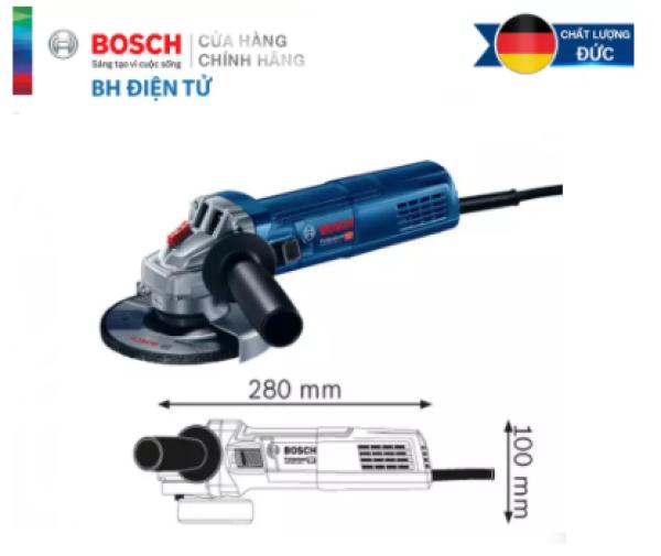 Máy mài góc Máy mài điện cầm tay Bosch GWS 900-100 Công suất 900w Dòng Haevy Duty bảo hành 12 tháng Đá 100mm