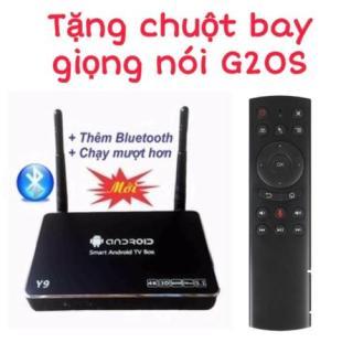 TV Box Y9 Ram 2G Rom 8G tặng chuột bay giọng nói G20S - Y9 + G20S thumbnail