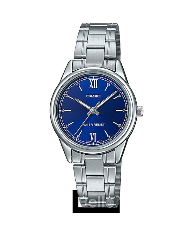 Đồng hồ Casio Nữ LTP-V005D-2B2 bảo hành chính hãng 1 năm - Pin trọn đời