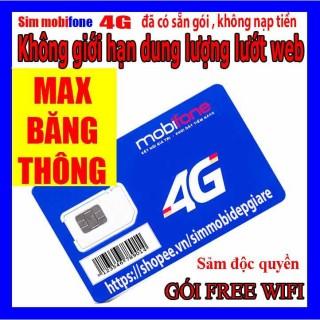 Sim 4G Mobifone Gói BL5GT -DIP50 TẶNG 1Tỉ GB Mỗi Tháng Chỉ 50K Dùng vào mạng tẹt ga thumbnail