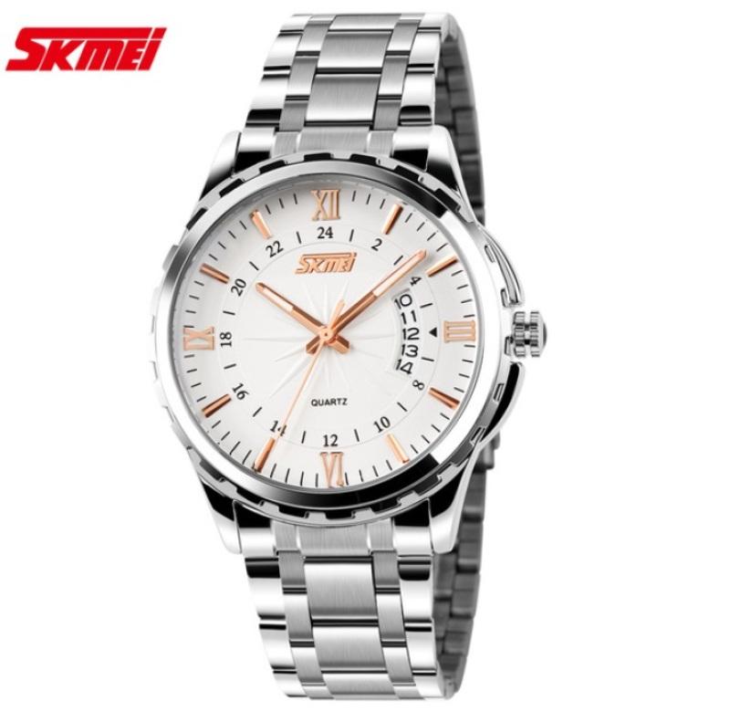 Đồng hồ nam dây thép tuyệt đẹp Skmei 9069