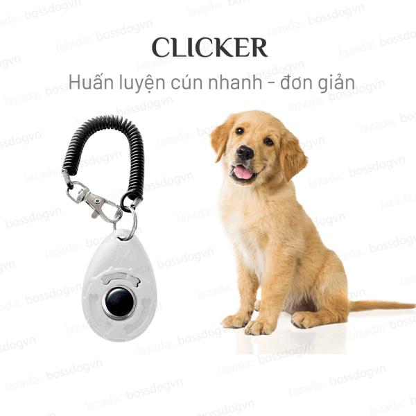 Clicker BENE huấn luyện cho chó nhanh hiệu quả - Phù hợp mọi dùng Poodle, Husky, Pom... | BH trọn đời 1 đổi 1 | BossDog