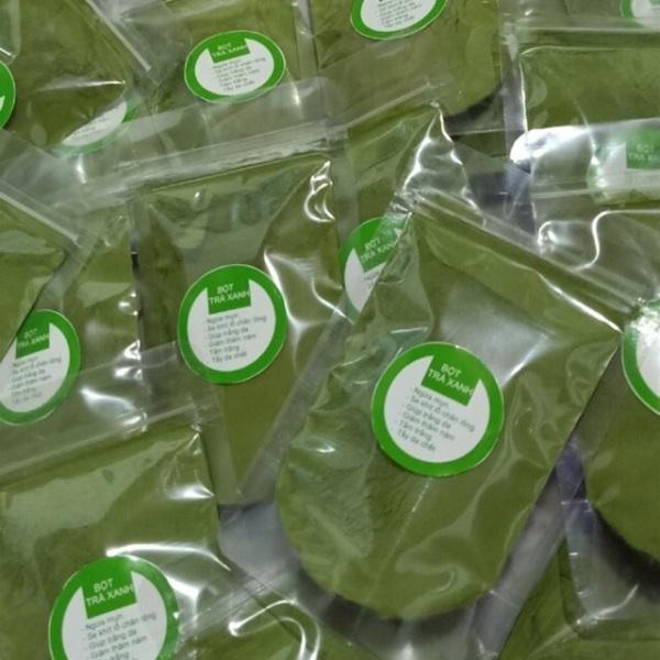Bột trà xanh 100gr nhập khẩu