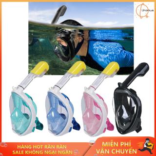 Mặt nạ lặn ống thở. Mặt nạ full face. Mặt nạ bơi lặn cao cấp size S M L XL. Đem lại cảm giác tuyệt vời khi ở dưới nước. Nhanh tay đặt hàng nào thumbnail