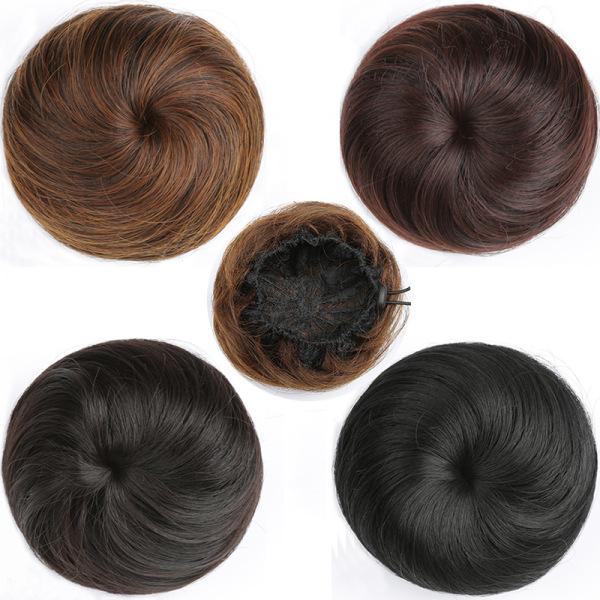 Búi tóc giả mượt cực trẻ trung - Búi tóc Hàn quốc mẫu Hot trend cao cấp