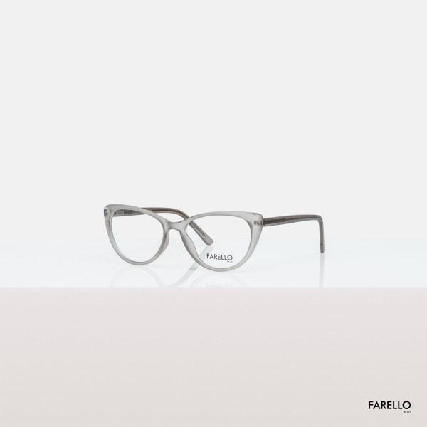 Mua Mắt kính cận nữ FARELLO nhựa bọc kim loại, mắt mèo, nhiều màu - CATEY Y8013
