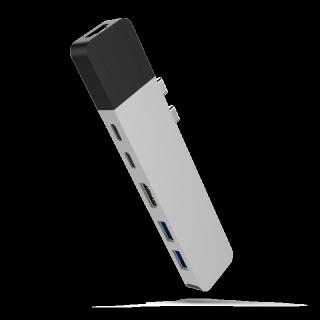 Cổng Chuyển HyperDrive Net 6-in-2 Hub For USB-C MacBook Pro 2016 2017 2018 (GN28N) thumbnail