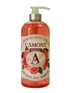 Sữa tắm Rose 1000ml - Thương hiệu L amont En Provence thumbnail