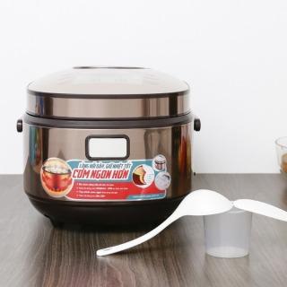 Nô i cơm điê n tử Sunhouse mama 1.5 lít SHD8915 chính hãng -hàng trưng bày,Lòng nồi hợp kim nhôm tráng men chống dính Whitford - USA bền bỉ, 2 lớp dày 2.8 mm, nấu ăn ngon, dễ vệ sinh. Công nghệ nấu 3D cho nhiệt lượng tỏa đều thumbnail