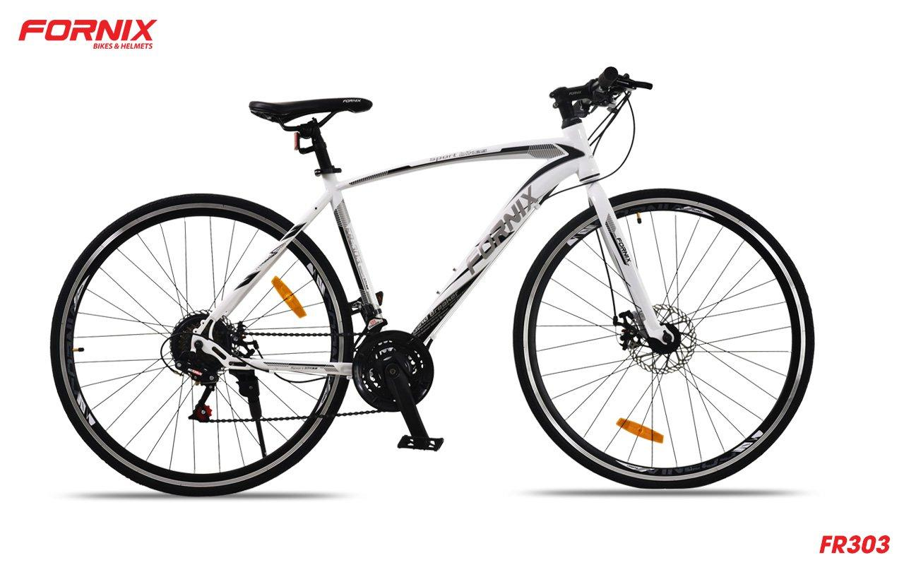Mua Xe đạp đường trường FR303 màu TRẮNG ĐEN