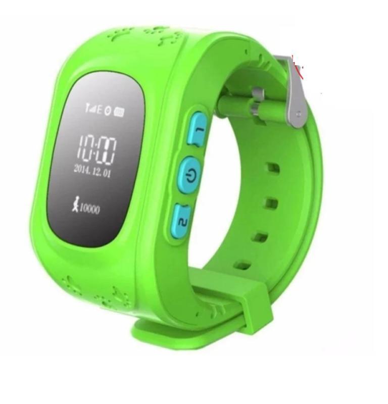 Nơi bán Đồng hồ định vị trẻ em sử dụng SIM, nút bấm gọi khẩn cấp, GPS (xanh lá) 1000002281