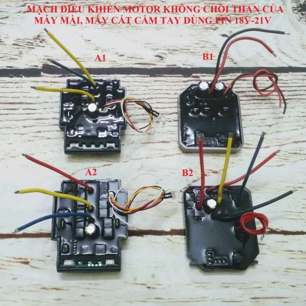 SV Mạch điều khiển động cơ không chổi than máy mài, cắt, đánh bóng dùng pin 18V
