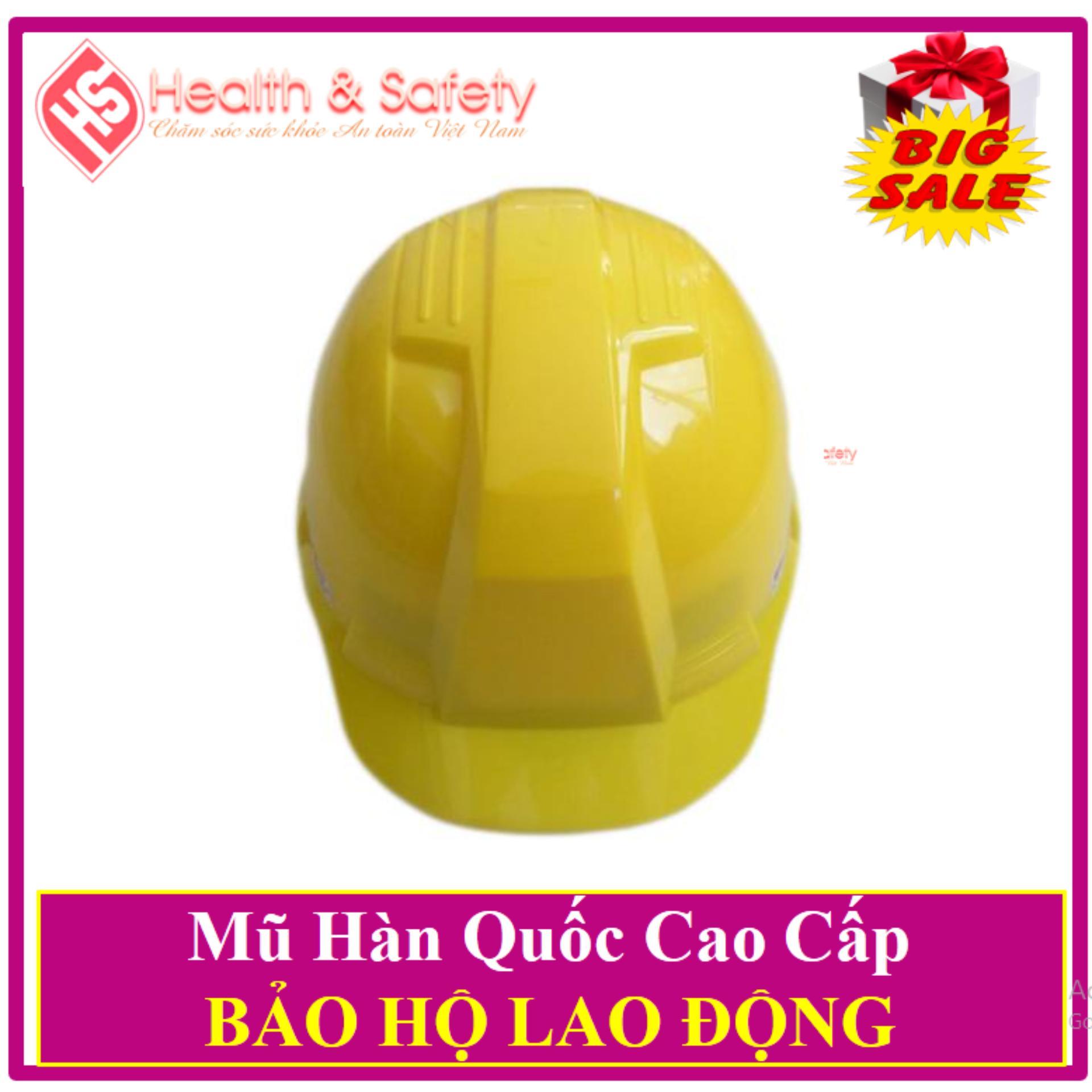 Mũ Bảo Hộ Hàn Quốc SSEDA- Tặng 02 Khẩu Trang 3M Cao Cấp