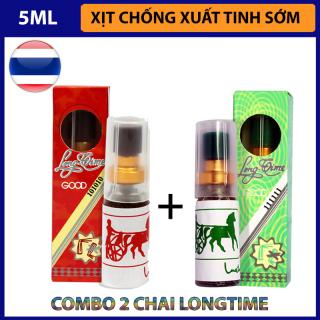 Combo 2 chai xịt kéo dài quan hệ LongTime Thái Lan (Nóng + Lạnh) thumbnail
