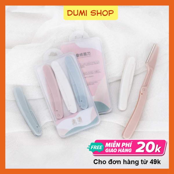 Set 3 Dao Cạo Lông Mày Cho Nữ Tiện Dụng – Dumi Shop