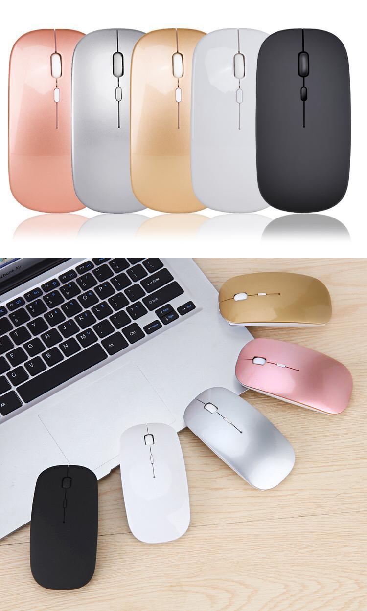 Giá (Như hình) chuột không dây kiểu dáng apple sang trọng, nhỏ gọn, nhẹ, bền, đẹp, giá rẻ