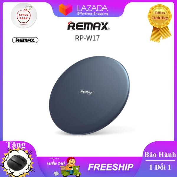 Giá Đế Sạc Không Dây Remax RP-W17 Sạc Nhanh Qi Xài Cho Led Samsung S7/S8/S9/S10/Note 8/Note 9 iPhone 8 X Xs 11Pro Vâng