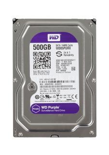 [HCM]Ổ cứng HDD 500G Western Purple ( Tím ) Chuyên dùng lưu trữ dữ liệu thumbnail