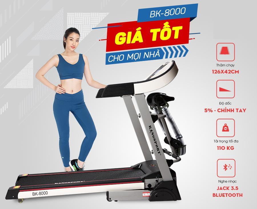 Bảng giá Máy chạy bộ BK8000 PRO-Đa Năng