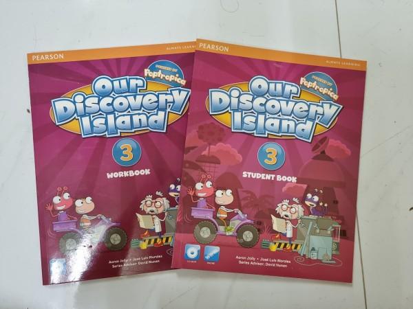 Bộ Our Discovery Island 3 ( Bộ 2 cuốn ) cho bé