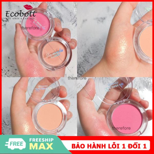 [HOTTREND] Phấn má hồng siêu mịn Lameila màu hot trend phấn má nội địa Trung phấn má màu hồng cam-Ecobott giá rẻ