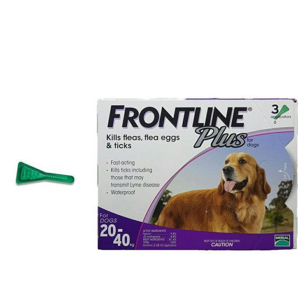 tuýp Nhỏ Gáy Phòng Và Trị Ve Rận Bọ Chét Cho Chó 20-40kg Frontline Plus For Dogs