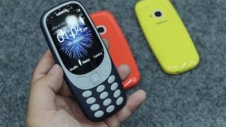 Điện thoại giá rẻ nokia 3310 2SIM (Main zin - chính hãng - bảo hành 1 năm) thumbnail