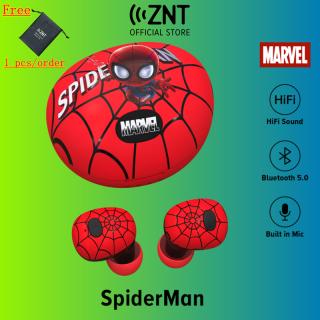 ZNT Spider-Ma.n Tai Nghe Không Dây Giảm Tiếng Ồn Thông Minh TWS Bluetooth 5.0 DSP thumbnail
