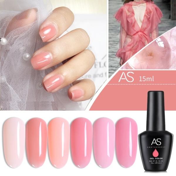 Sơn gel AS - màu thạch hồng mã BL giá rẻ
