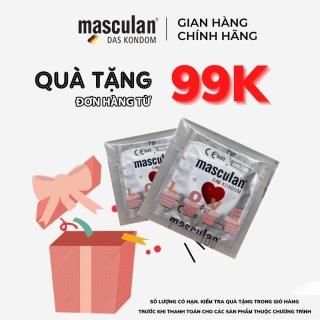 [ QUÀ TẶNG ĐƠN 99K ] Bao Cao Su Masculan Cao Cấp, Hương Thơm Độc Quyền Không Mùi Cao Su - Giao Ngẫu Nhiên thumbnail