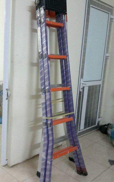 Thang nhôm sơn tĩnh điện cao 2,5 m giá rẻ