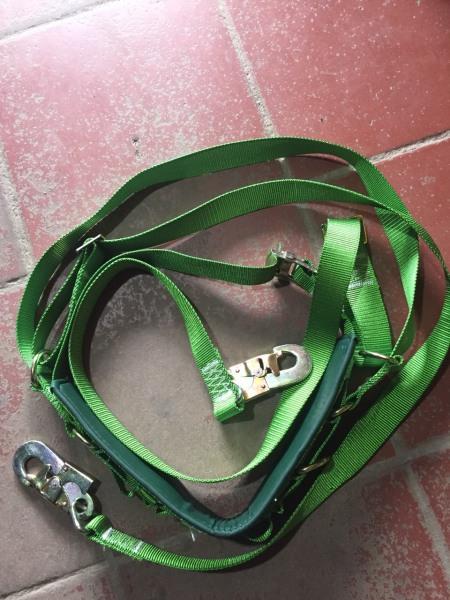 Dây bảo hiểm HAN-KO 2 tấn 2 móc có ghế ngồi ,dây an toàn trèo cột điện, dây bảo hiểm leo núi, dây bảo hiểm leo cây