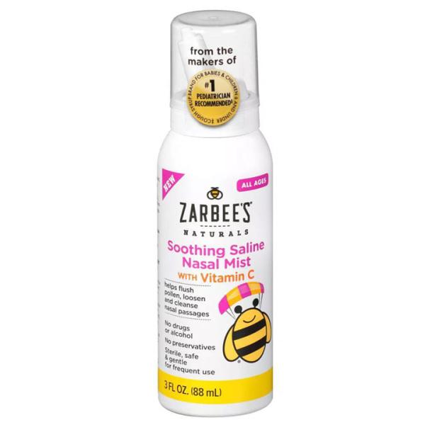 Xịt mũi chống dị ứng cho trẻ Zarbees 88ml