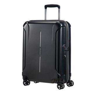 [Miễn Phí Ship ] Vali American Tourister AT TECHNUM SPINNER 77 TSA ASIA - ALUMINIUM Hệ thống 4 bánh đôi 360 độ vận hành êm nhẹ,Khóa số tích hợp TSA tiêu chuẩn Hoa Kỳ thumbnail