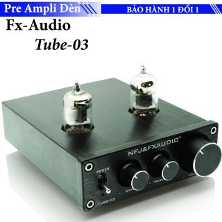 FX Audio TUBE-03 6J1 Preamplifier Đèn, Chỉnh Bass-Treble thumbnail