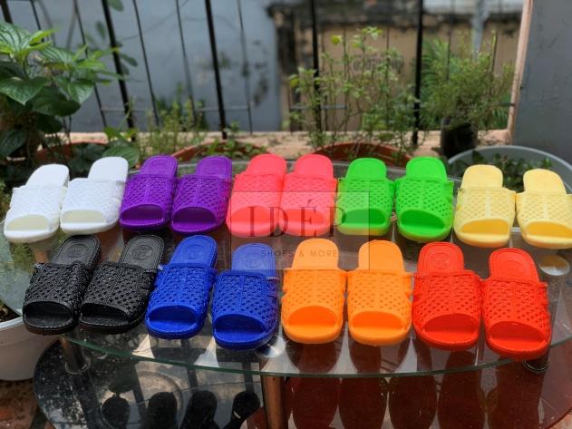 Dép Tổ Ong Nhiều Màu Đi Mưa, Đi Trong Nhà Nam Nữ (9 Màu) - DL015 giá rẻ