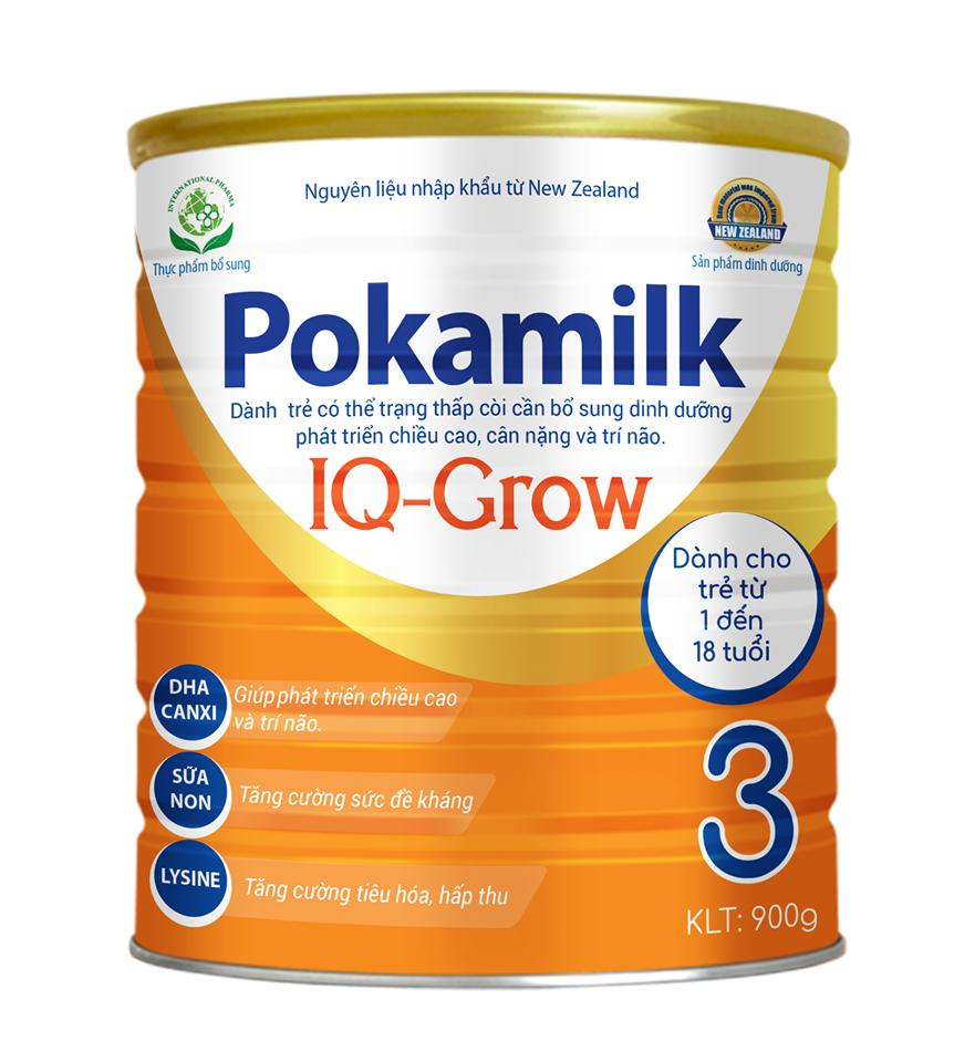 Sữa Phát Triển Chiều Cao Và Não Bộ Pokamilk - Iq Grow 900g By Tydo Tasuamum.