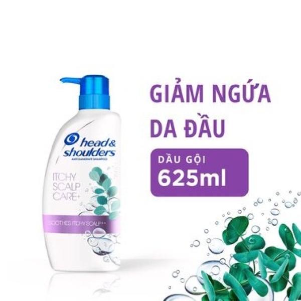 Dầu gội (Shampoo) Head & Shoulders Da đầu ngứa chai vòi 625ML giá rẻ