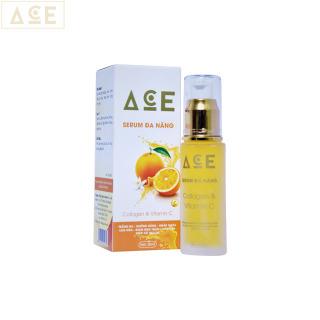 Serum Đa Năng Collagen & Vitamin C - ACE (30ml), làm đẹp da, giải quyết các vấn đề về da mặt, giúp da mịn màng , tươi trẻ - Công Ty Kim Ngân thumbnail